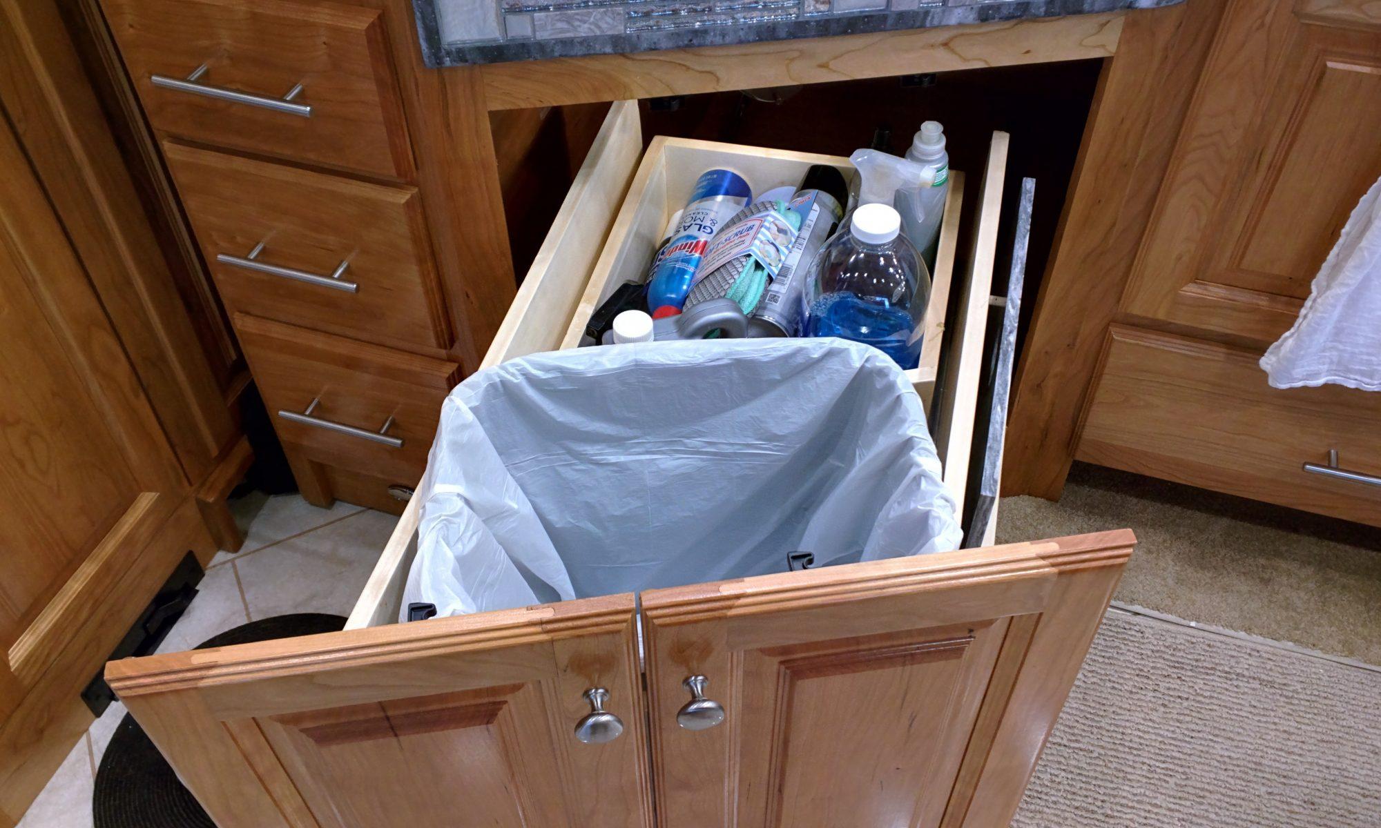 Trash Slide-Out - After