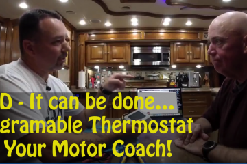 David and Michael install a Thermostat