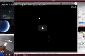 Jupiter Saturn Conjunction 2020-12-20