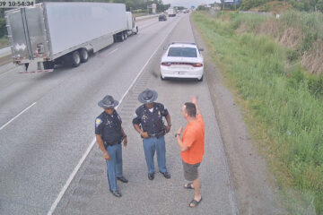 Planning our Police escort